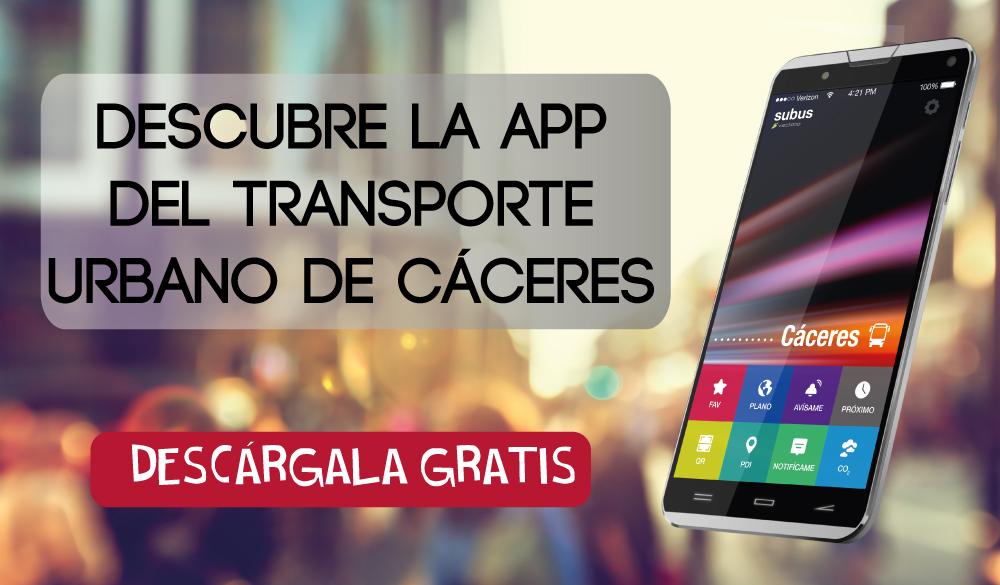 App autobús Cáceres