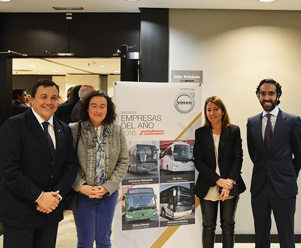 Subús Cáceres, premio mejor empresa del año