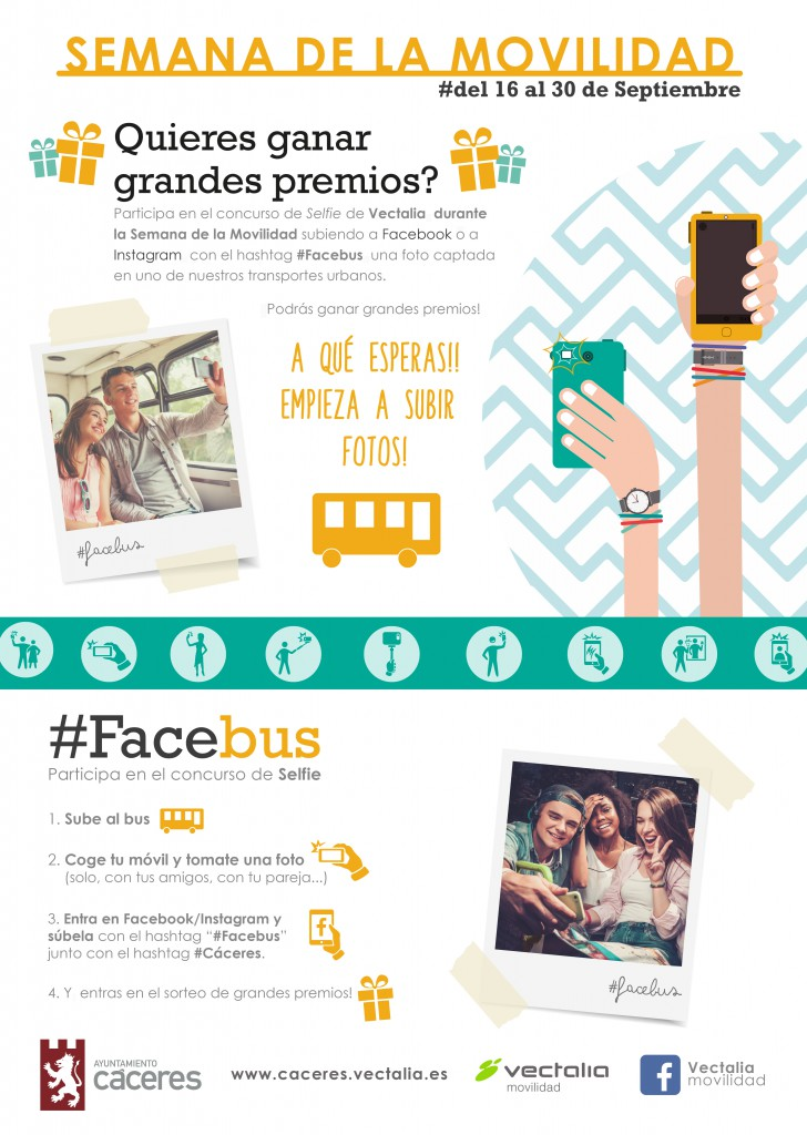 Concurso #facebus #Cáceres