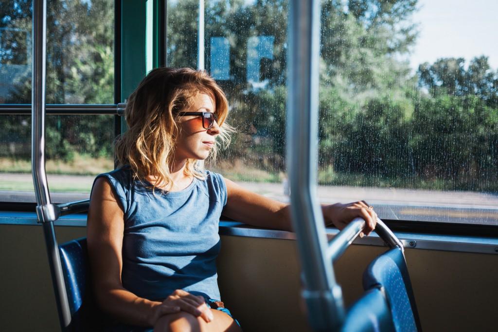 Autobús en Cáceres