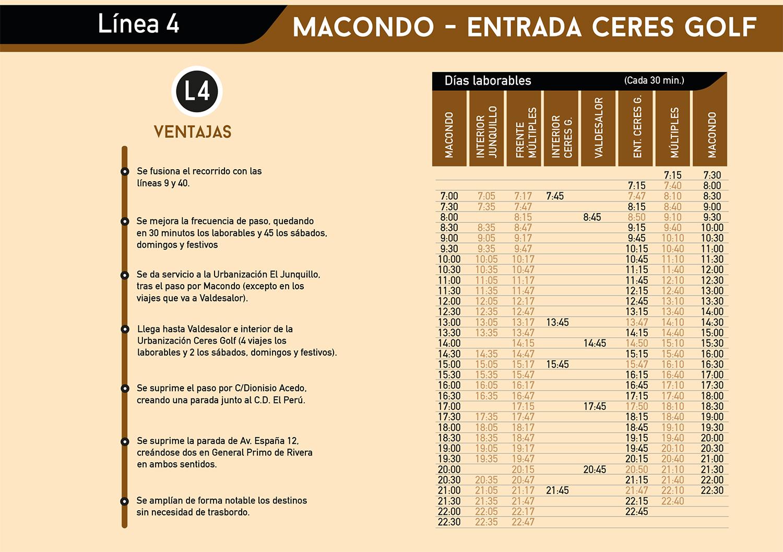 Mejoras en el transporte urbano de Cáceres