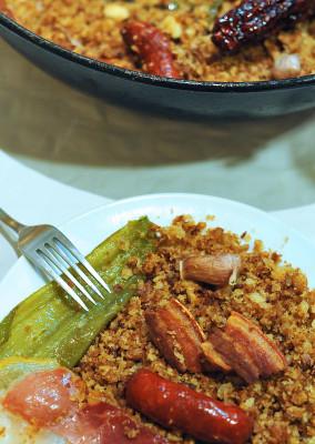 Migas de pastor, cocina española