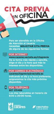 IPTICO CACERES CITA PREVIA EN OFICINA